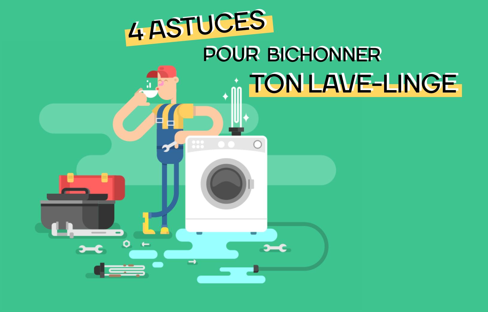 Nettoyer Le Lave Linge Au Bicarbonate 4 astuces pour nettoyer son lave-linge - murfy | le blog de