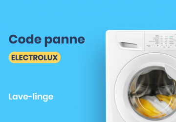 Code panne Electrolux lave linge